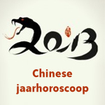 Chinese jaarhoroscoop 2013 / 2014